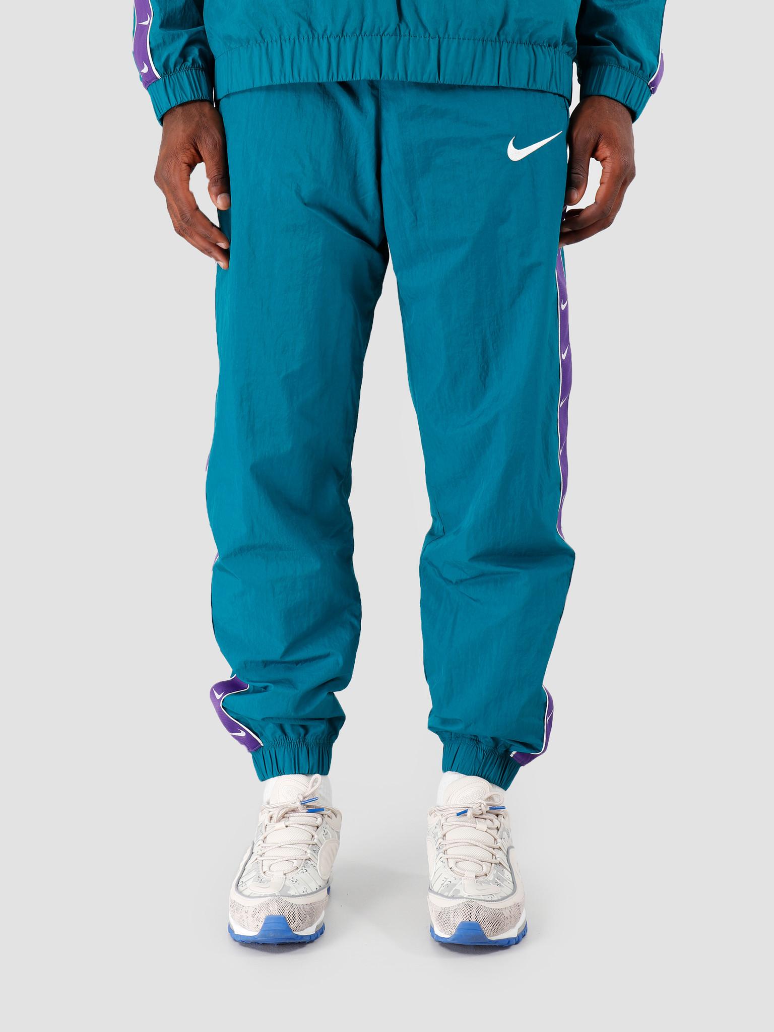 Nike Nike NSW Swoosh Pant Wvn Geode Teal Court Purple White CD0421-381