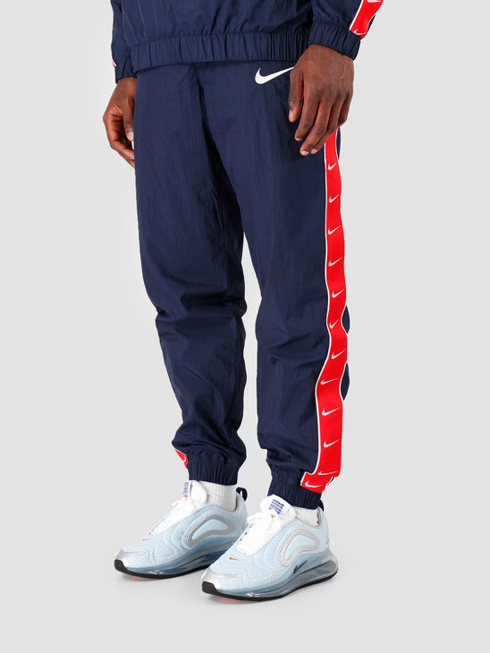 Nike NSW Swoosh Pant Wvn Obsidian University Red White CD0421-451