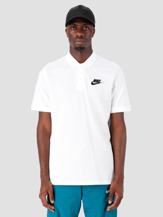 Nike Sportswear Polo White Black 909746-100