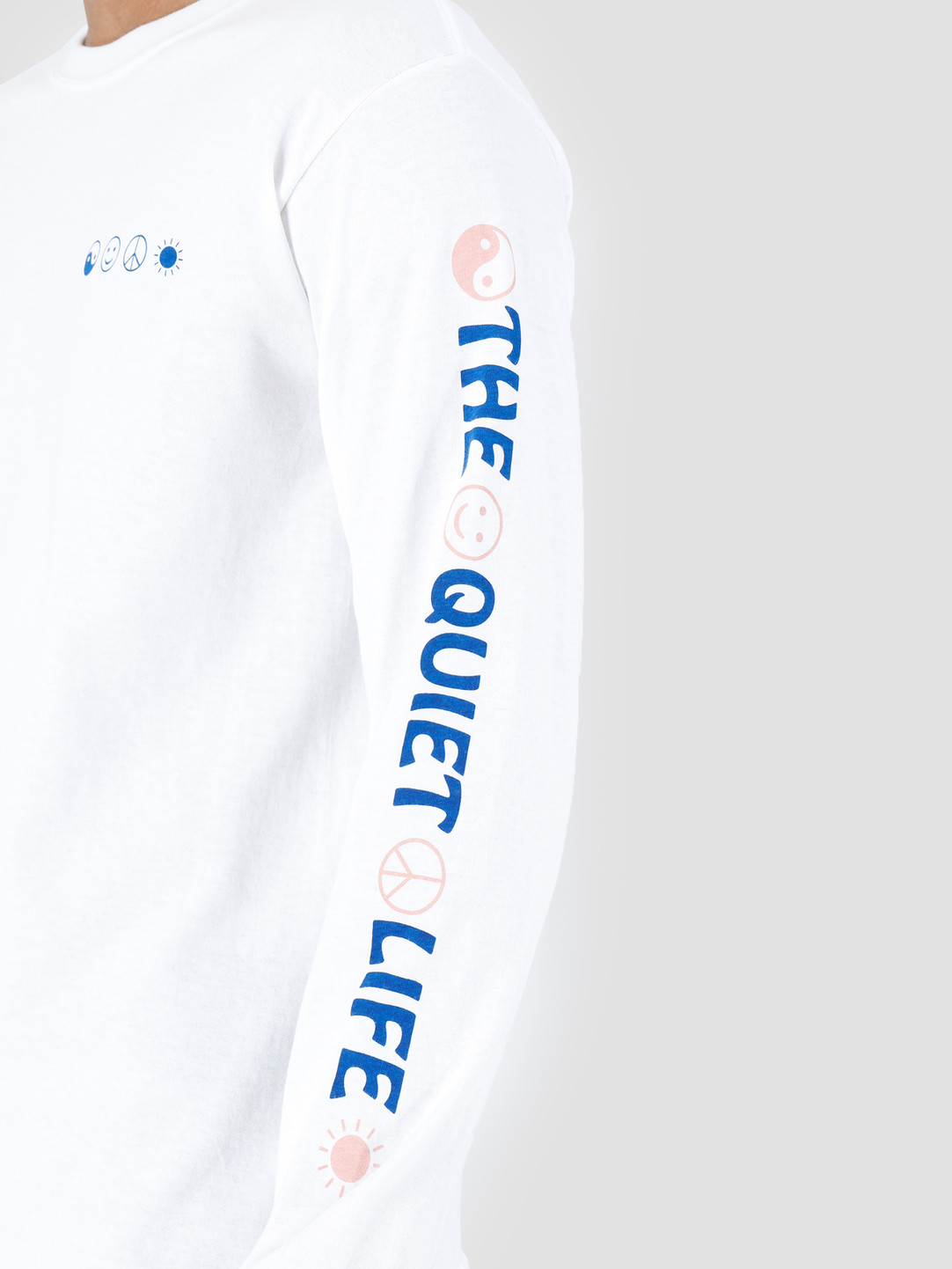 The Quiet Life The Quiet Life World Peace Long Sleeve White 19SPD2-2133-WHT