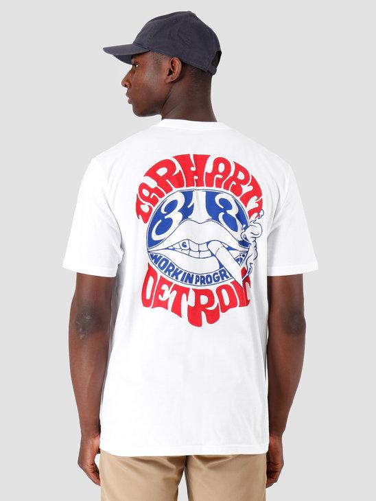 Carhartt WIP Clearwater T Shirt White I027096
