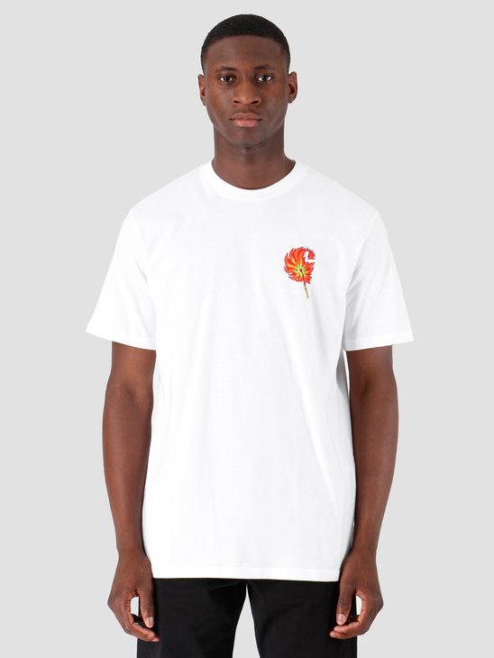 Carhartt WIP Match T Shirt White I027095