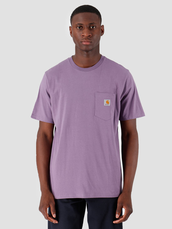 Carhartt WIP Pocket T Shirt Dusty Mauve I022091