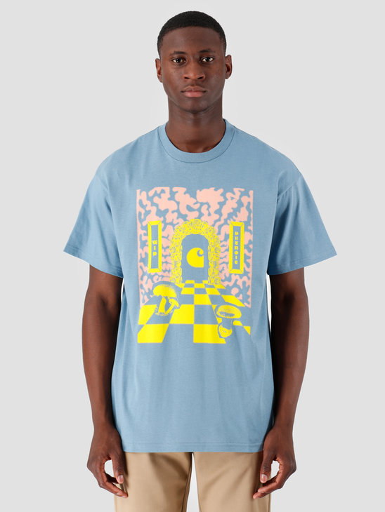 Carhartt WIP Shroom T Shirt Cold Blue I027081