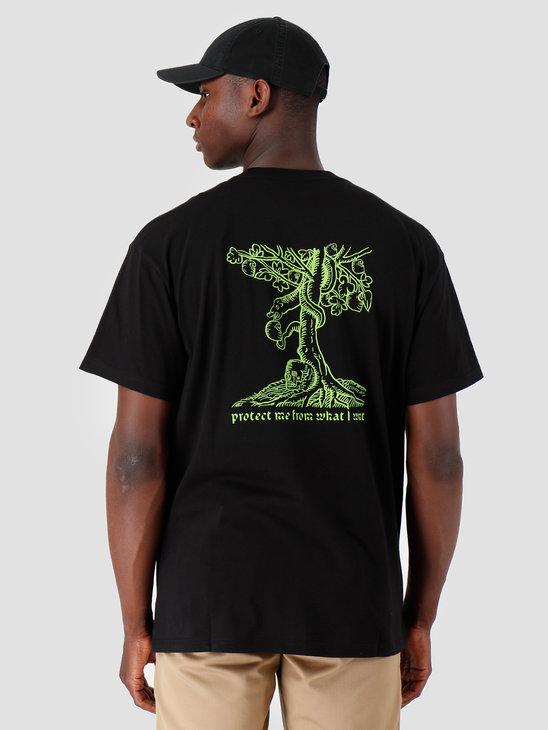 Carhartt WIP Snake T Shirt Black Green I027107