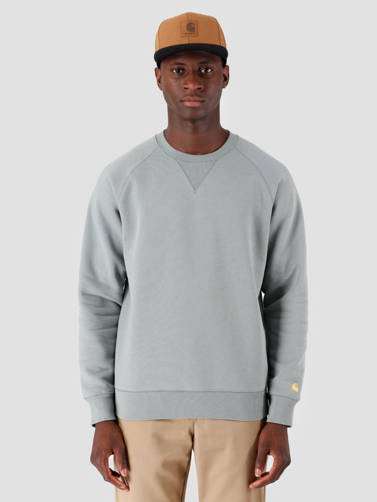 Carhartt WIP Chase Sweat Cloudy Gold I026383