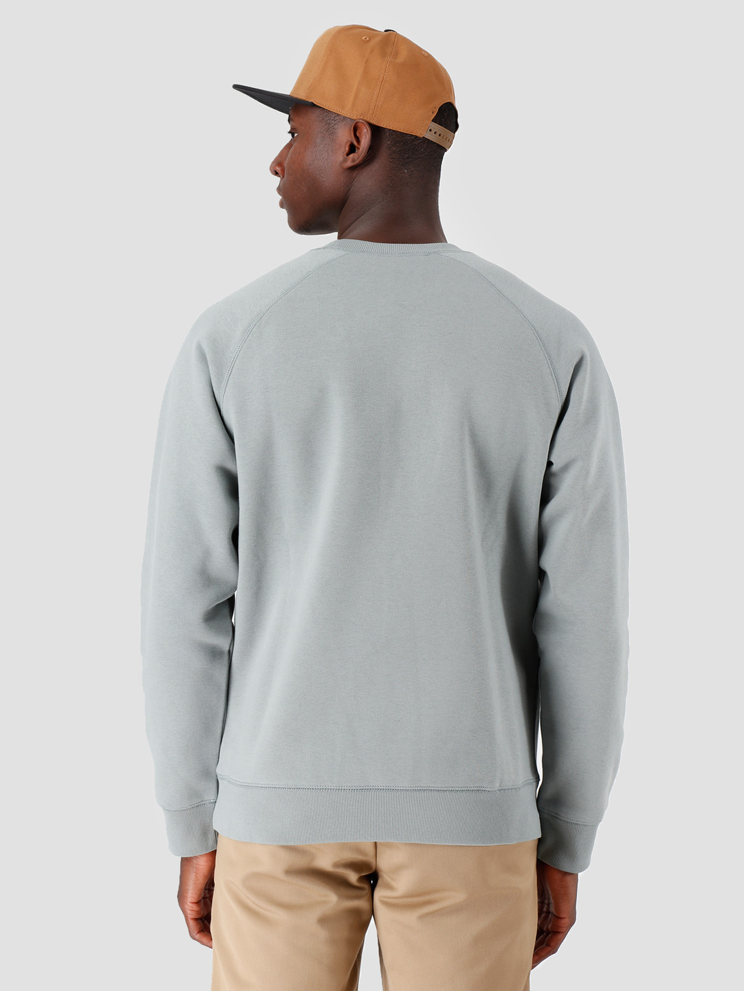 27076425f Carhartt WIP Chase Sweat Cloudy Gold I026383