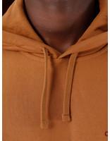 Carhartt WIP Carhartt WIP Hooded American Script Sweat Hamilton Brown I027041