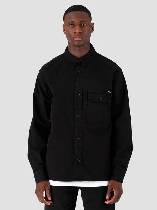 Carhartt WIP Longsleeve Reno Shirt Black I026532