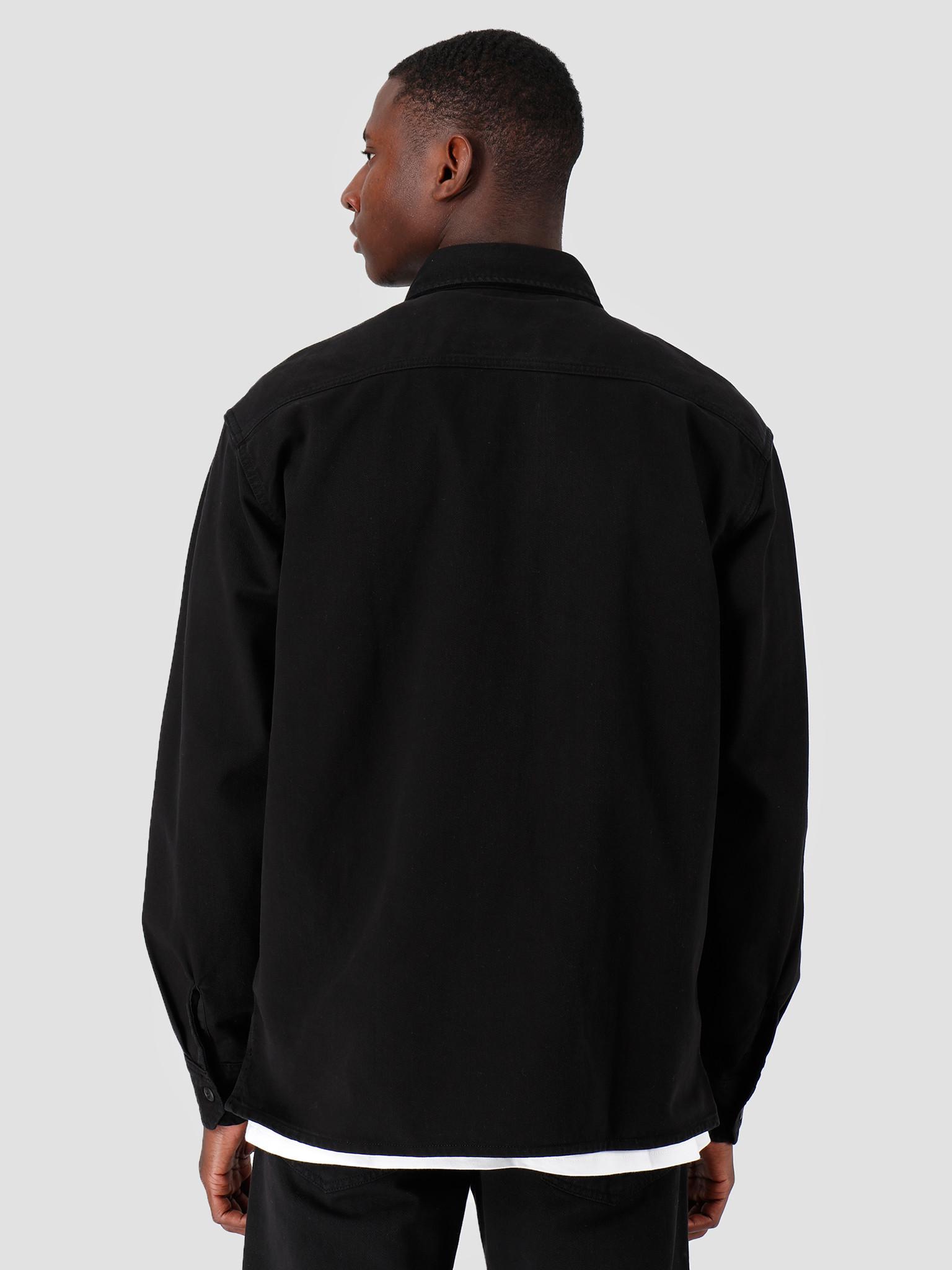 Carhartt WIP Carhartt WIP Longsleeve Reno Shirt Black I026532