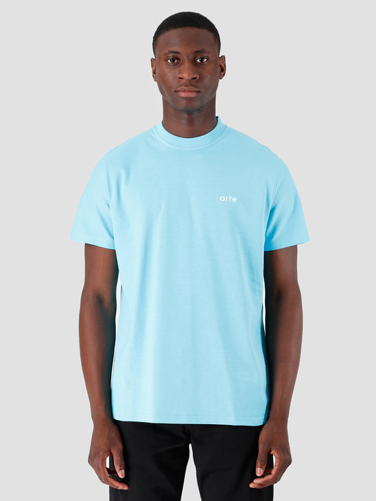 Arte Antwerp Troy Light Blue Logo T-Shirt 3757109