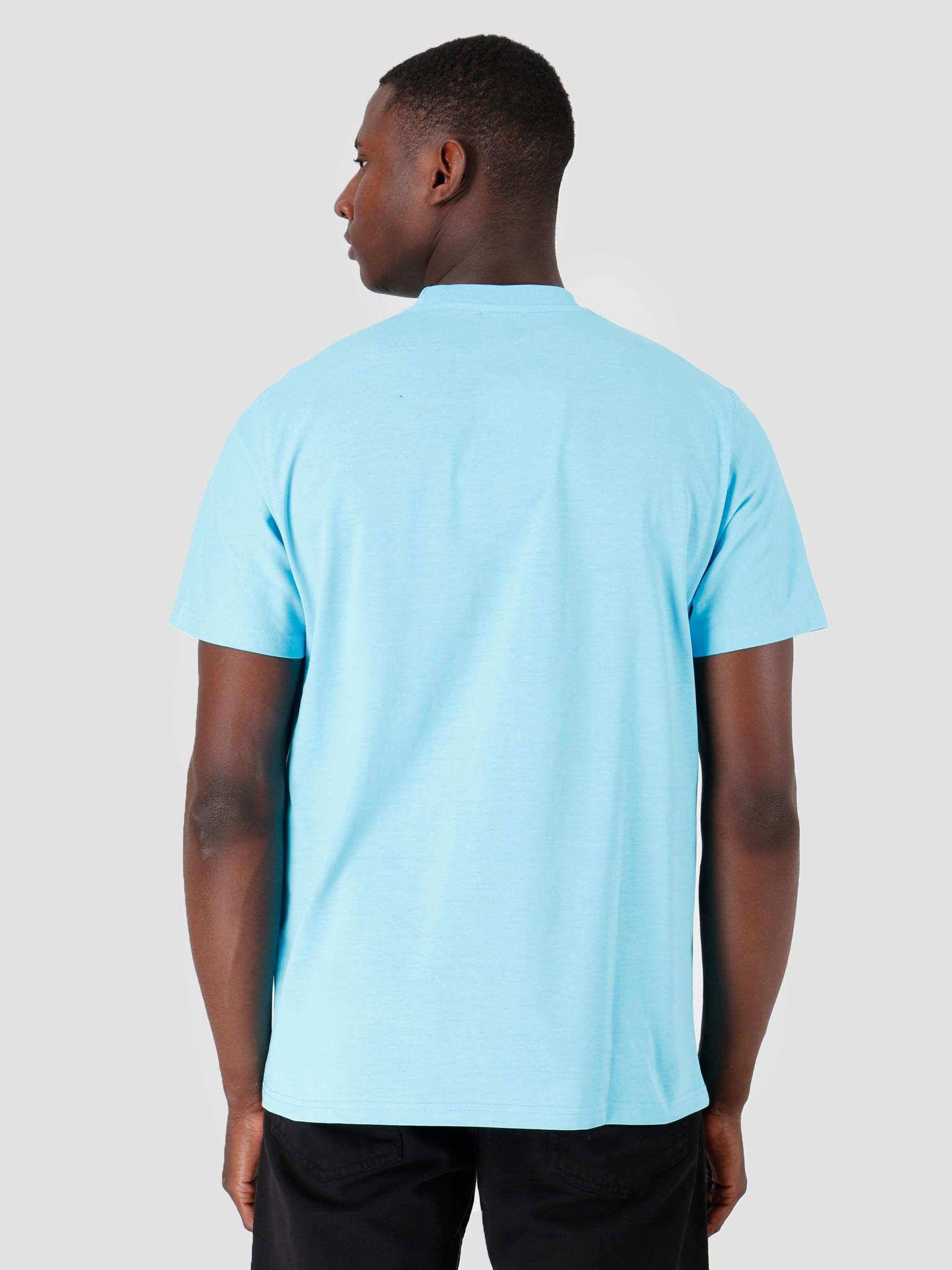 Arte Antwerp Arte Antwerp Troy Light Blue Logo T-Shirt 3757109