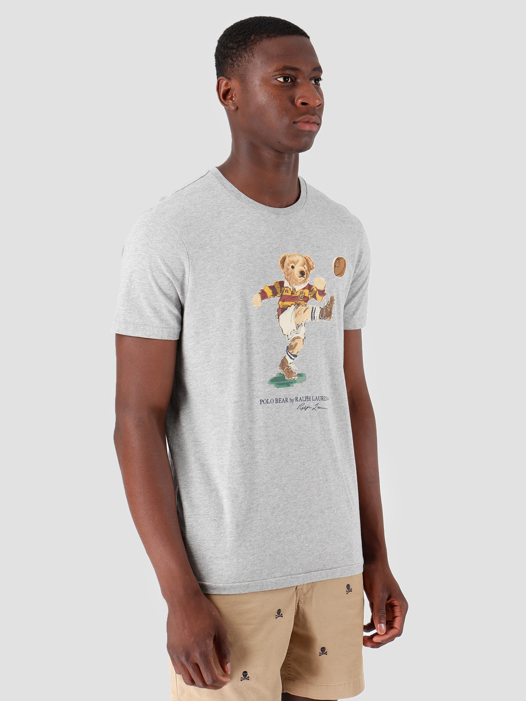 Polo Ralph Lauren Ralph Lauren 26 1 Jersey Shortsleeve T-Shirt Grey Htr 710750927001