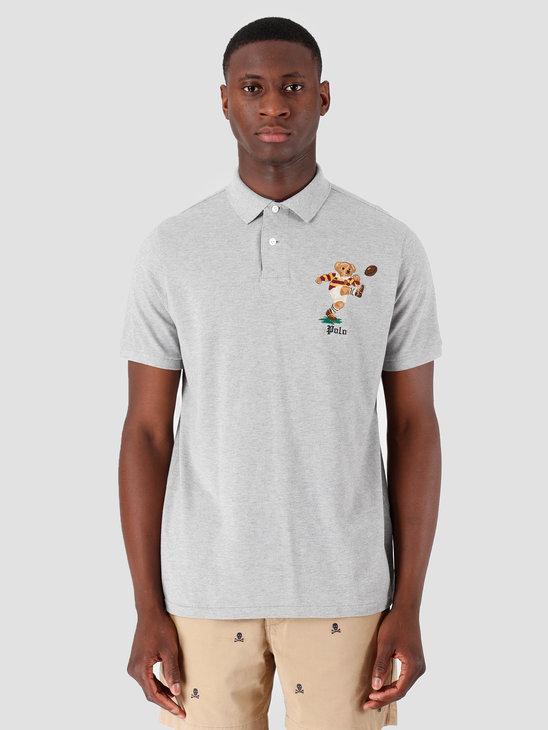 Polo Ralph Lauren Basic Mesh Shortsleeve Grey Htr 710755851001