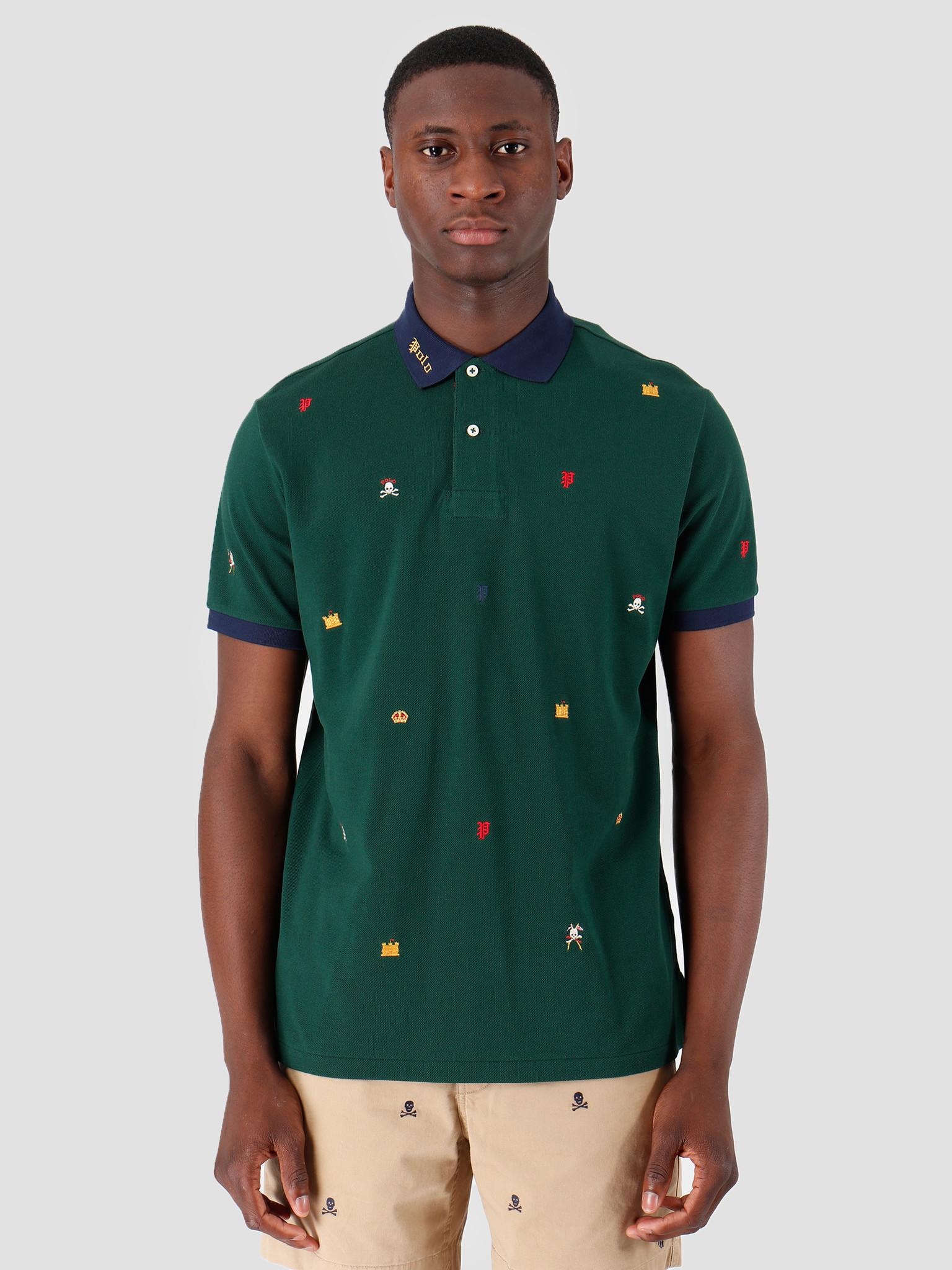 Polo Ralph Lauren Polo Ralph Lauren Basic Mesh T-Shirt Green 710763786001