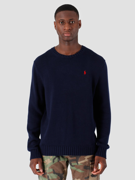 Polo Ralph Lauren Longsleeve Cotton Sweater Blue 710727573001