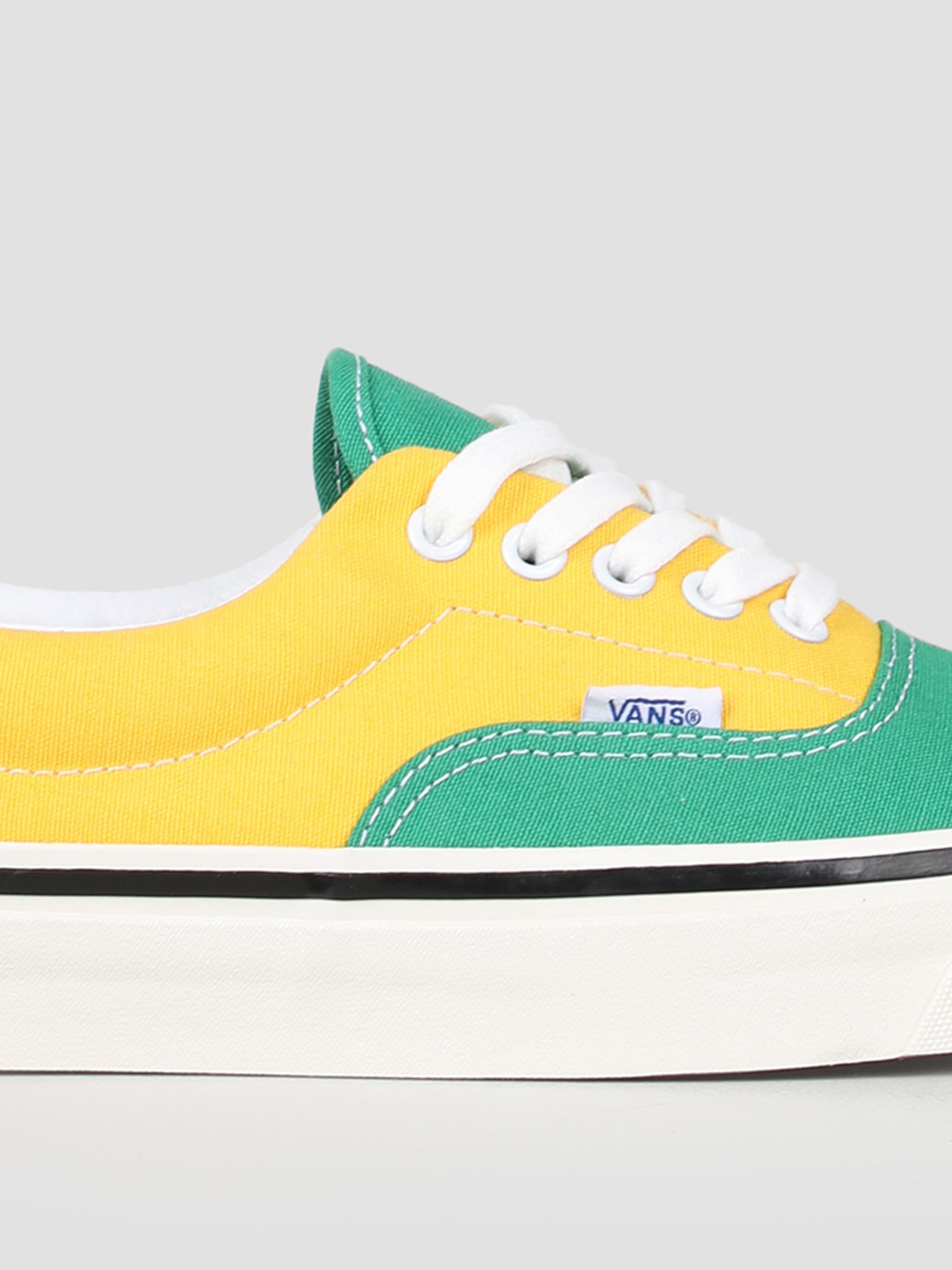Vans Vans UA Era 95 DX Anaheim Factory OG Emerald OG Yellow OG Navy VN0A2RR1VY91