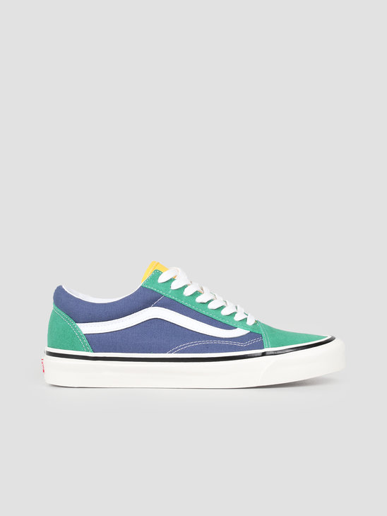 Vans UA Old Skool 36 DX Anaheim Factory OG Emerald OG Navy VN0A38G2VZQ1
