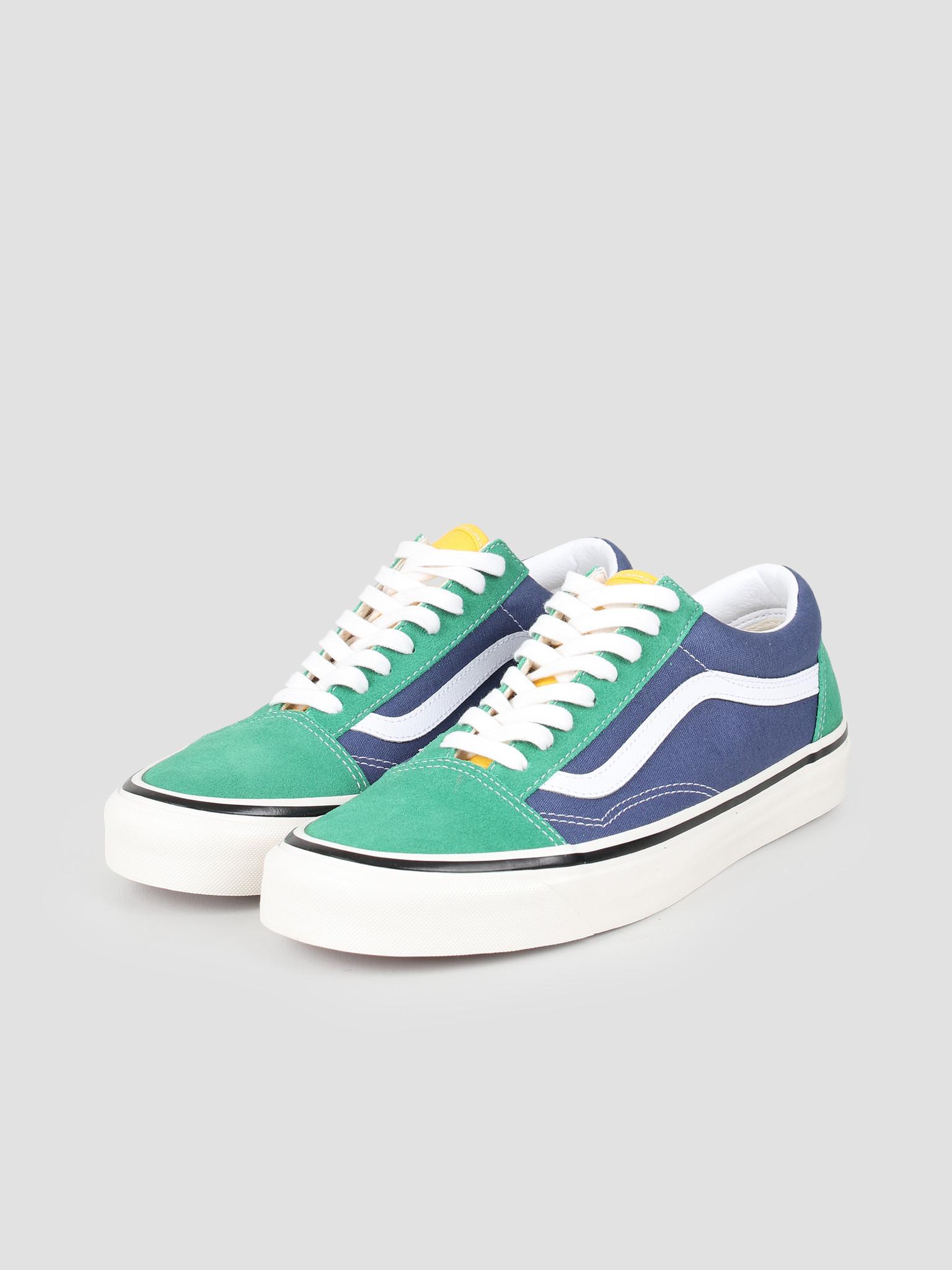 Vans Vans UA Old Skool 36 DX Anaheim Factory OG Emerald OG Navy VN0A38G2VZQ1