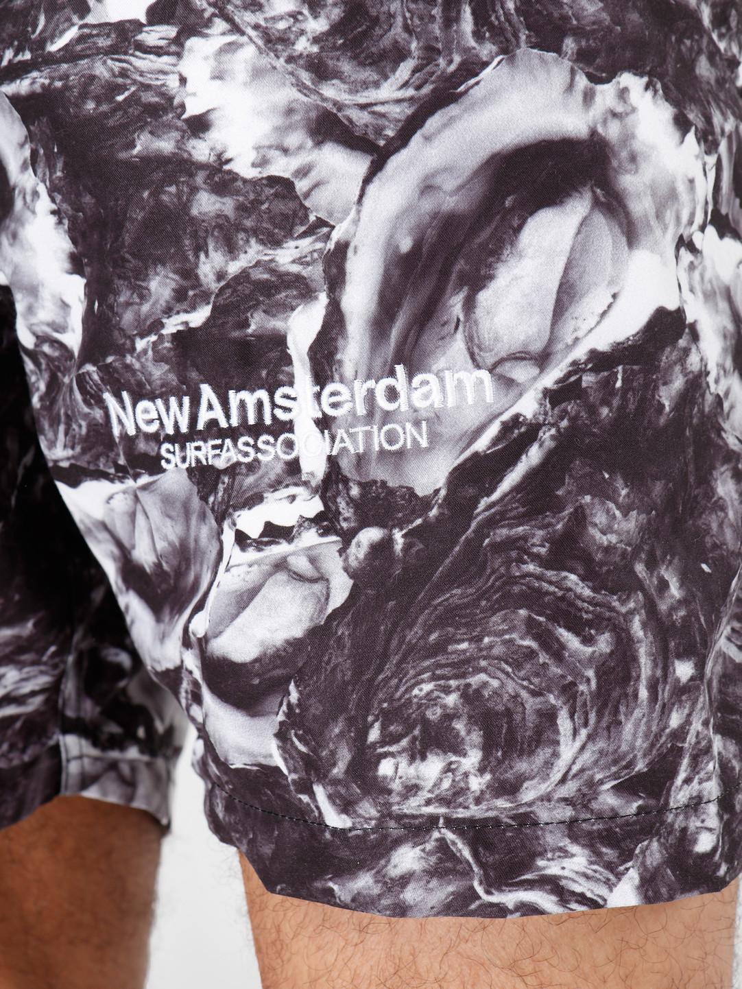 New Amsterdam Surf association New Amsterdam Surf association Oyster Swimshort Grey 2018016
