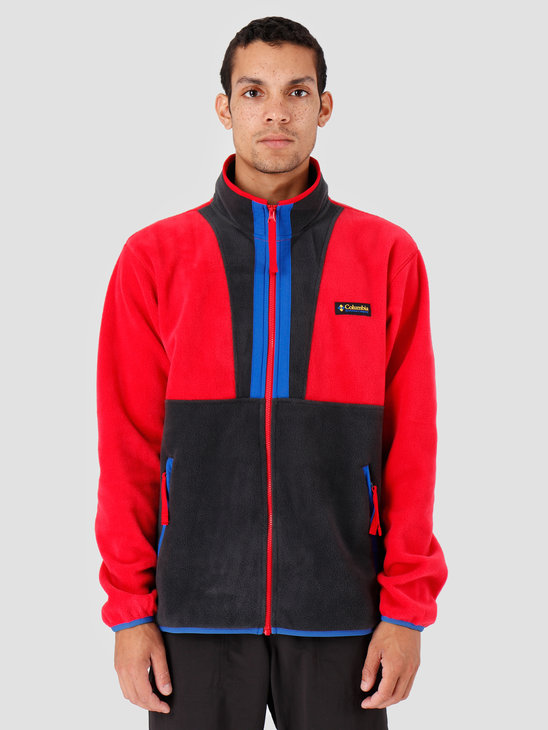 Columbia Back Bowl Full Zip FleecMountain Red B Mountain Red B 1872792613