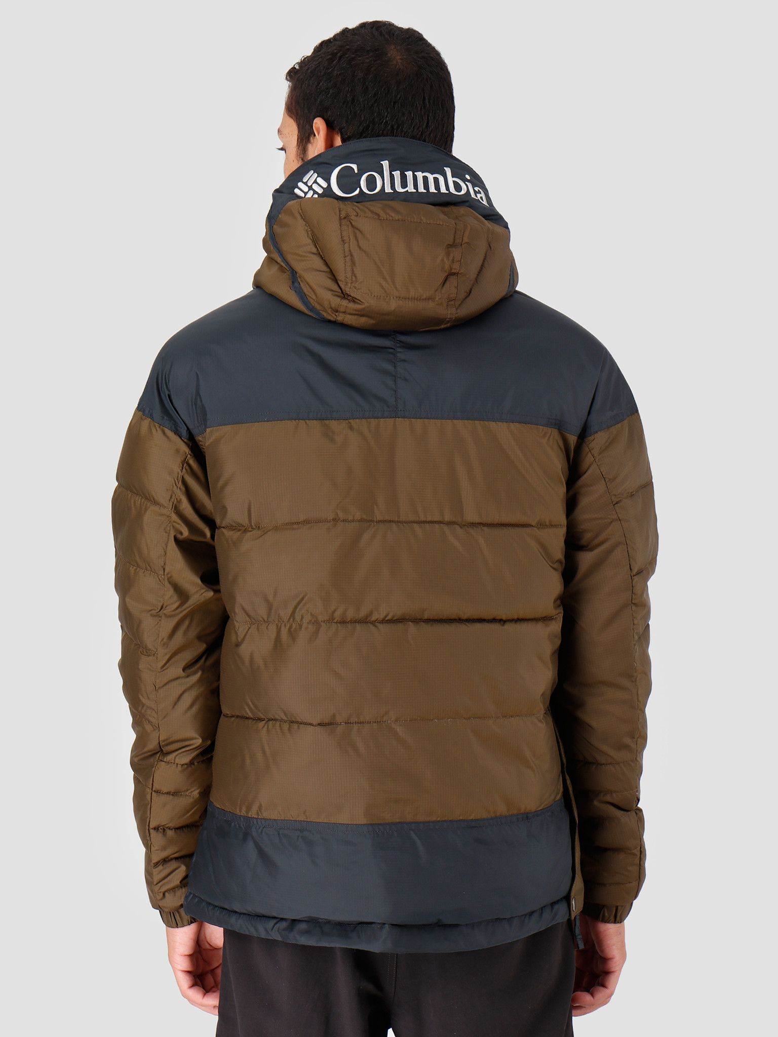 Columbia Columbia Columbia Lodge Pullover Jacket Olive Green Bl 1864422319