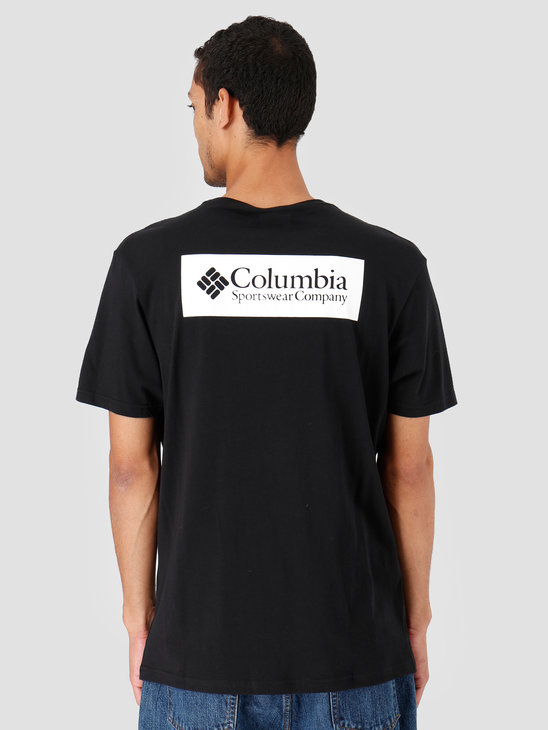 Columbia North Cascades T-Shirt Black 1834041011