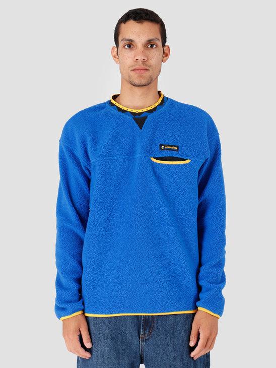 Columbia Wapitoo Fleece PulloverAzul Stinger B Azul Stinger B 1872782437