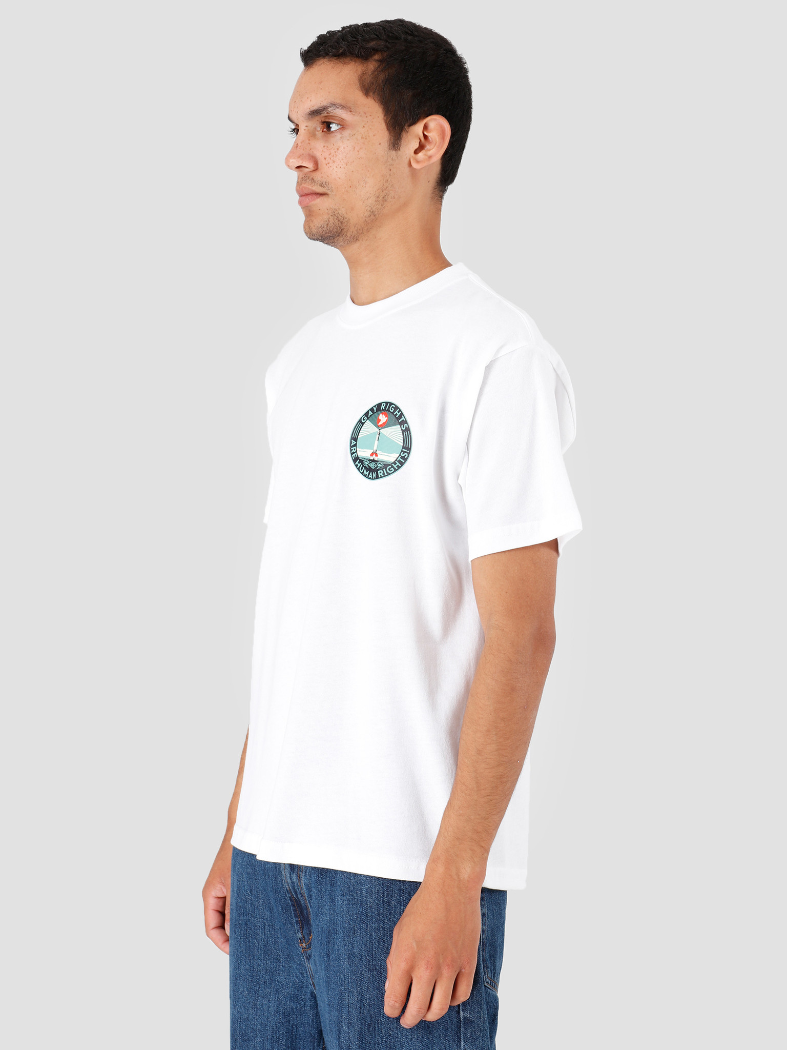 Obey Obey Fire Island T-Shirt White 167292167-WHT