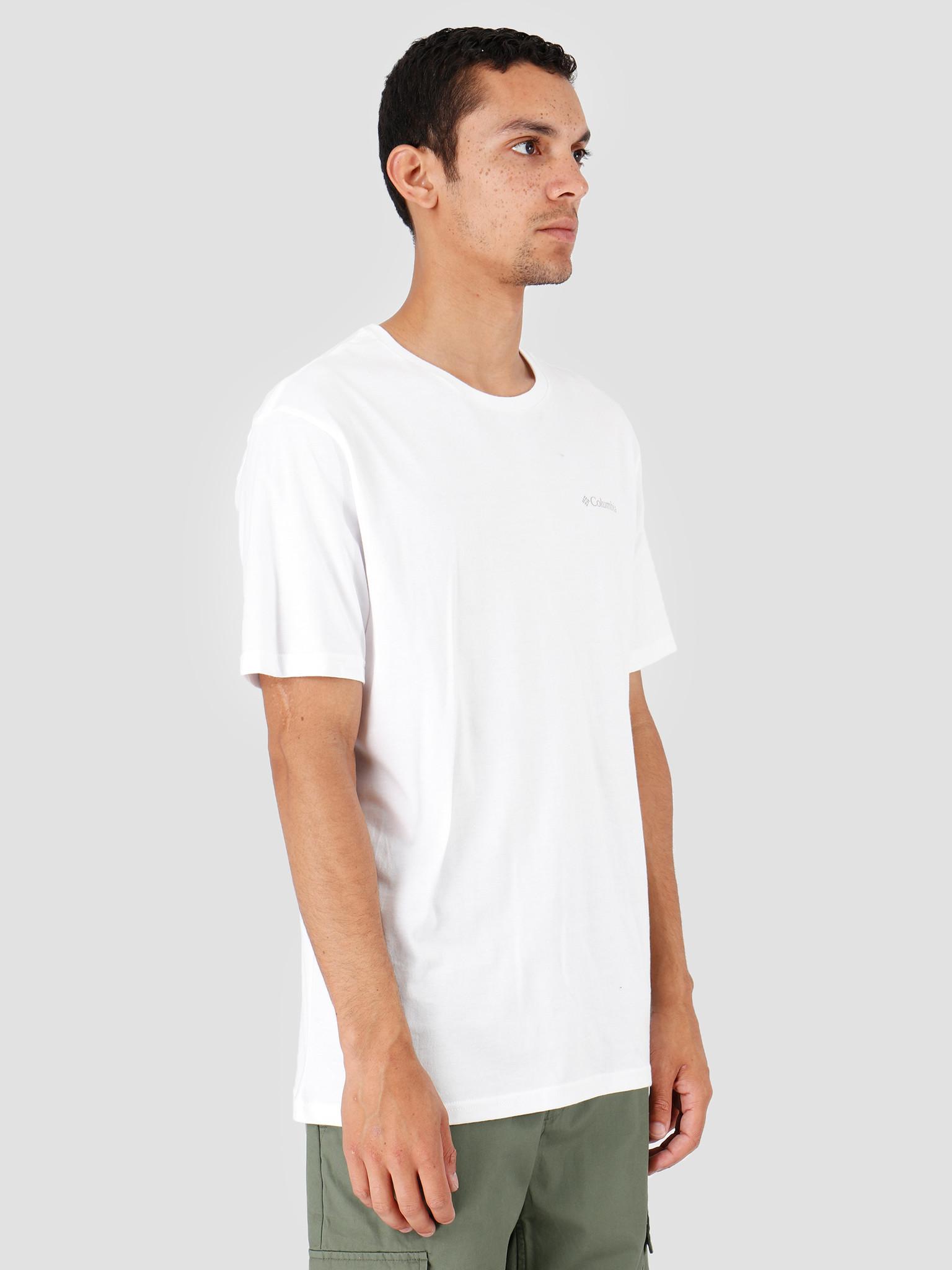 Columbia Columbia North Cascades T-Shirt White Azul White Azul 1834041106