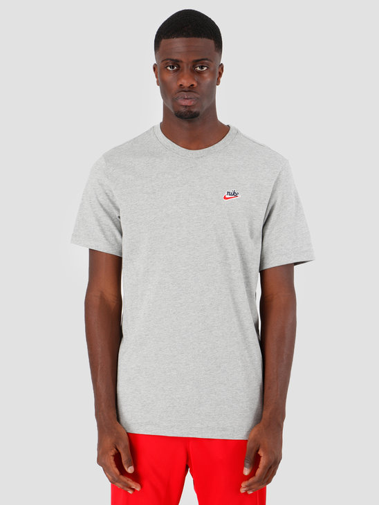 Nike NSW T-Shirt Heritage Dk Grey Heather BV7882-063