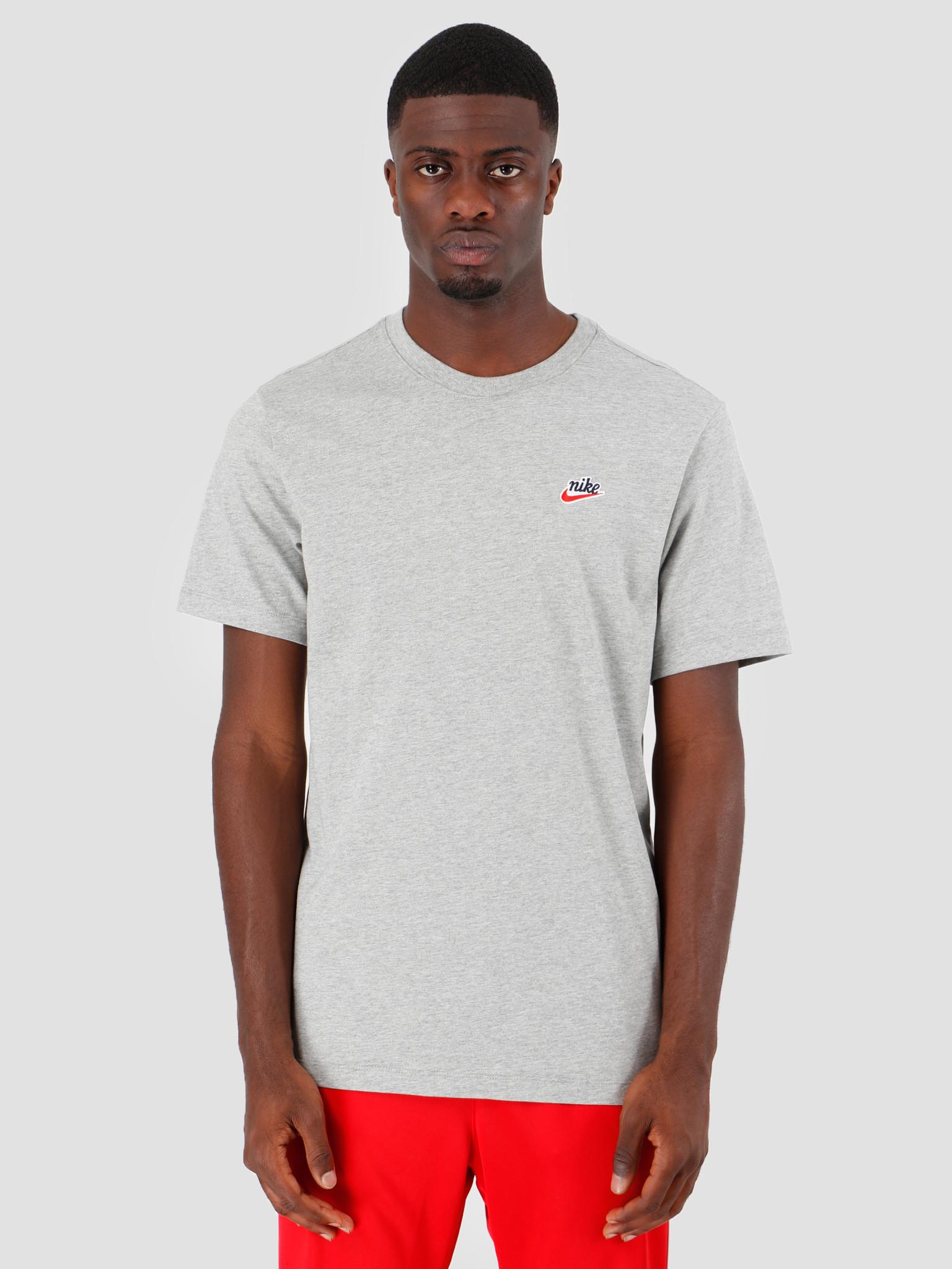Nike Nike NSW T-Shirt Heritage Dk Grey Heather BV7882-063