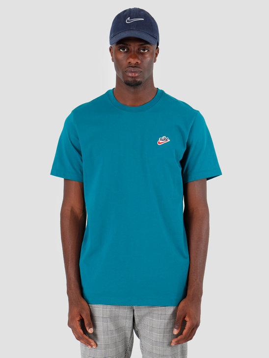 Nike NSW T-Shirt Heritage Geode Teal BV7882-381