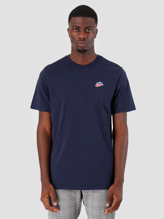 Nike NSW T-Shirt Heritage Obsidian BV7882-451