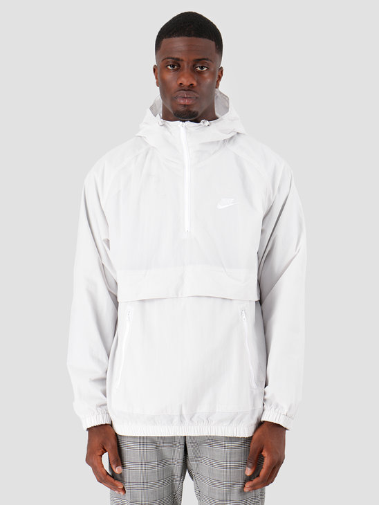 Nike NSW Ce Jkt Hd Wvn Anrk Vast Grey Vast Grey White AR2212-078