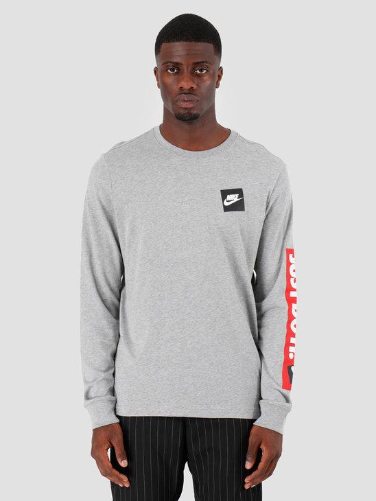 Nike NSW Longsleeve Dk Grey Heather CD9598-063