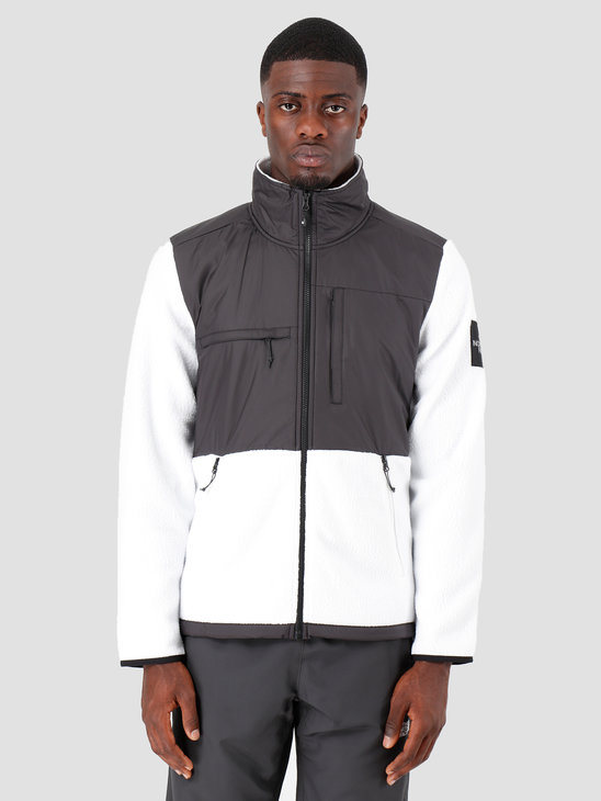 The North Face Denali Fleece Black White T9381MFV3