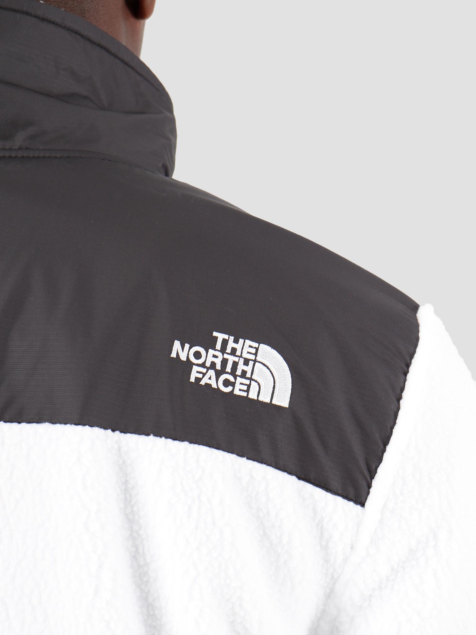 The North Face The North Face Denali Fleece Black White T9381MFV3