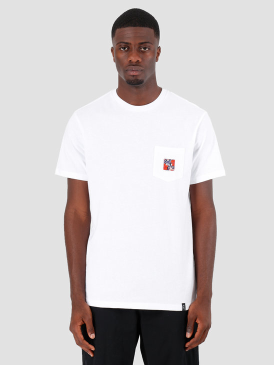 HUF Semitropic Shortsleeve Pocket White TS00711