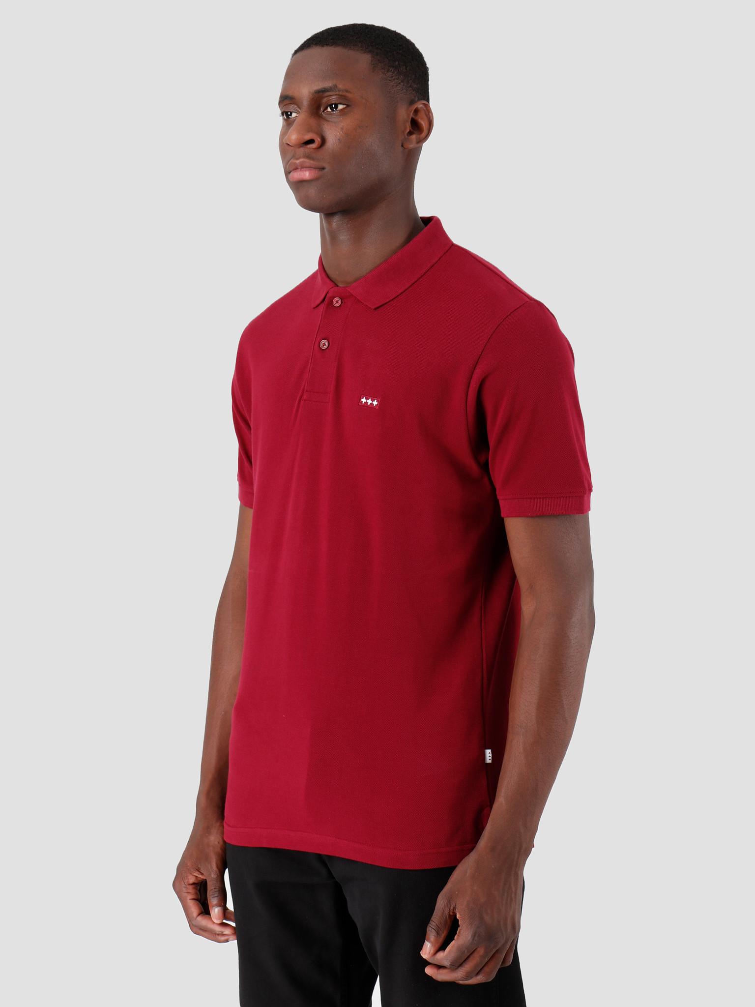 Quality Blanks Quality Blanks QB50 Polo Burgundy Red