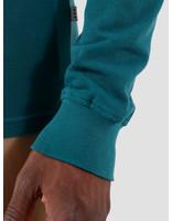 Quality Blanks Quality Blanks QB51 Longsleeve Polo Dark Teal