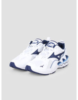 Mizuno Mizuno Wave Rider 1 White Blue Depths D1GA192714