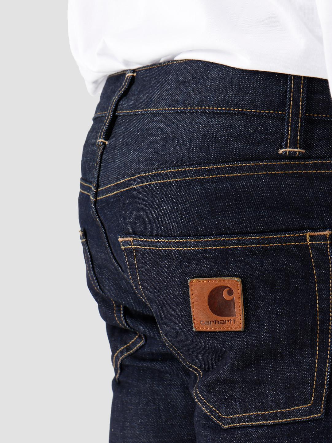 Carhartt WIP Carhartt WIP Klondike Pant Blue Rinsed I016735-102