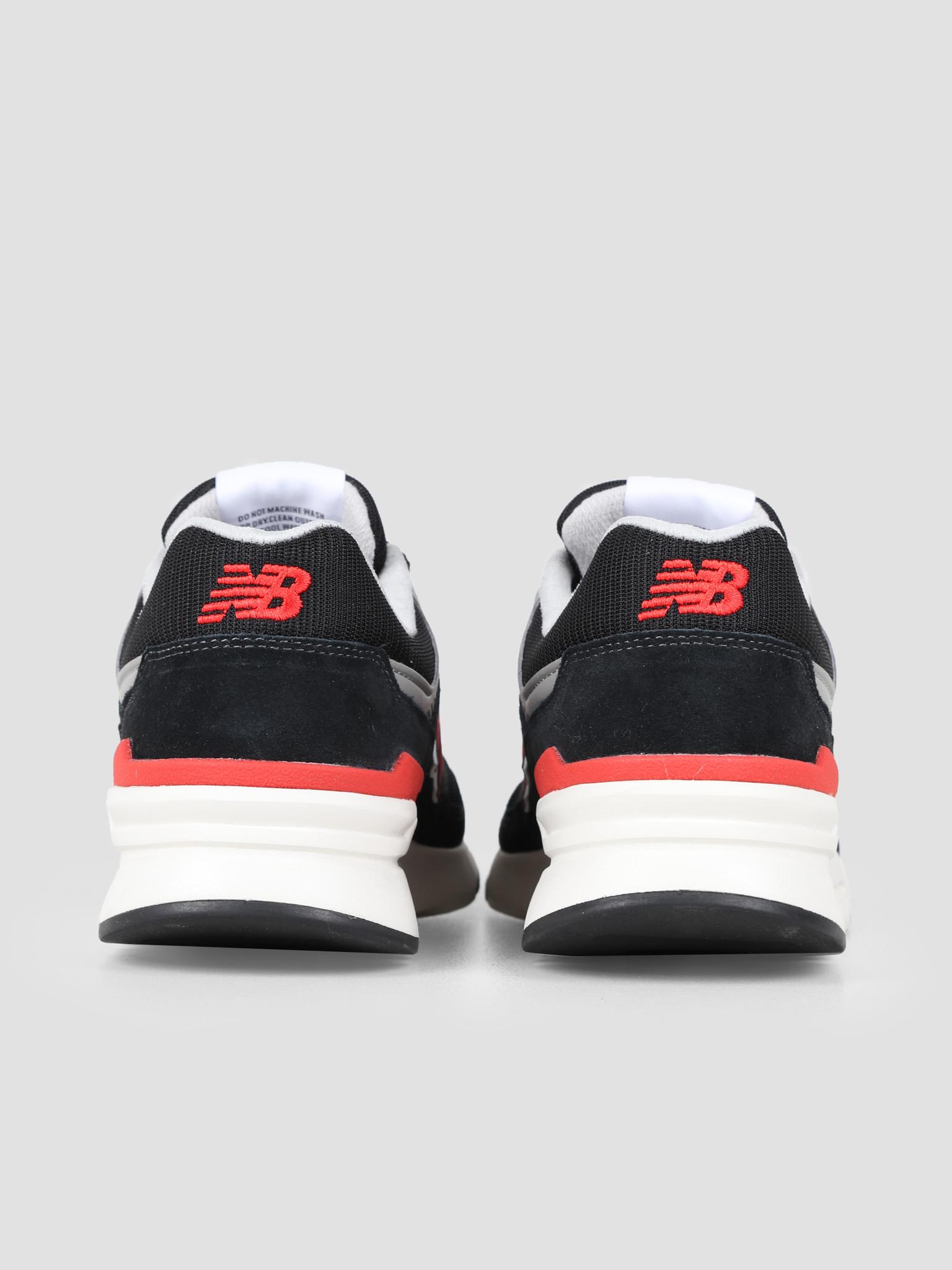 New Balance New Balance CM997 D Black Red 738151-60