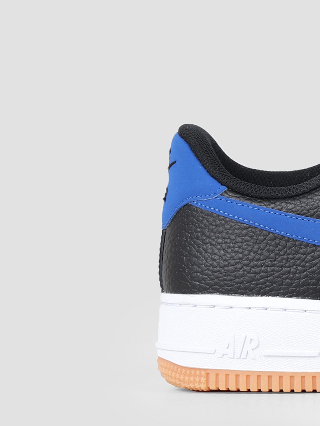 Nike Nike Air Force 1 07 2 Black Game Royal White Gum Med Brown CI0057-001