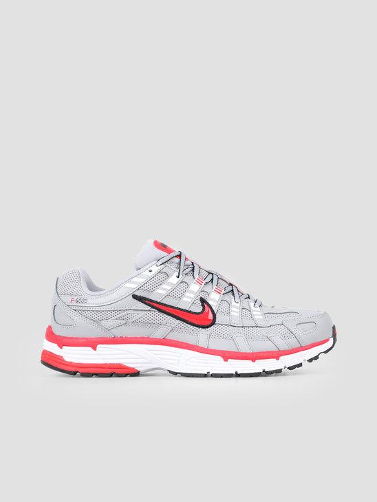 Nike P 6000 Flt Silver Flt Silver University Red CD6404-001