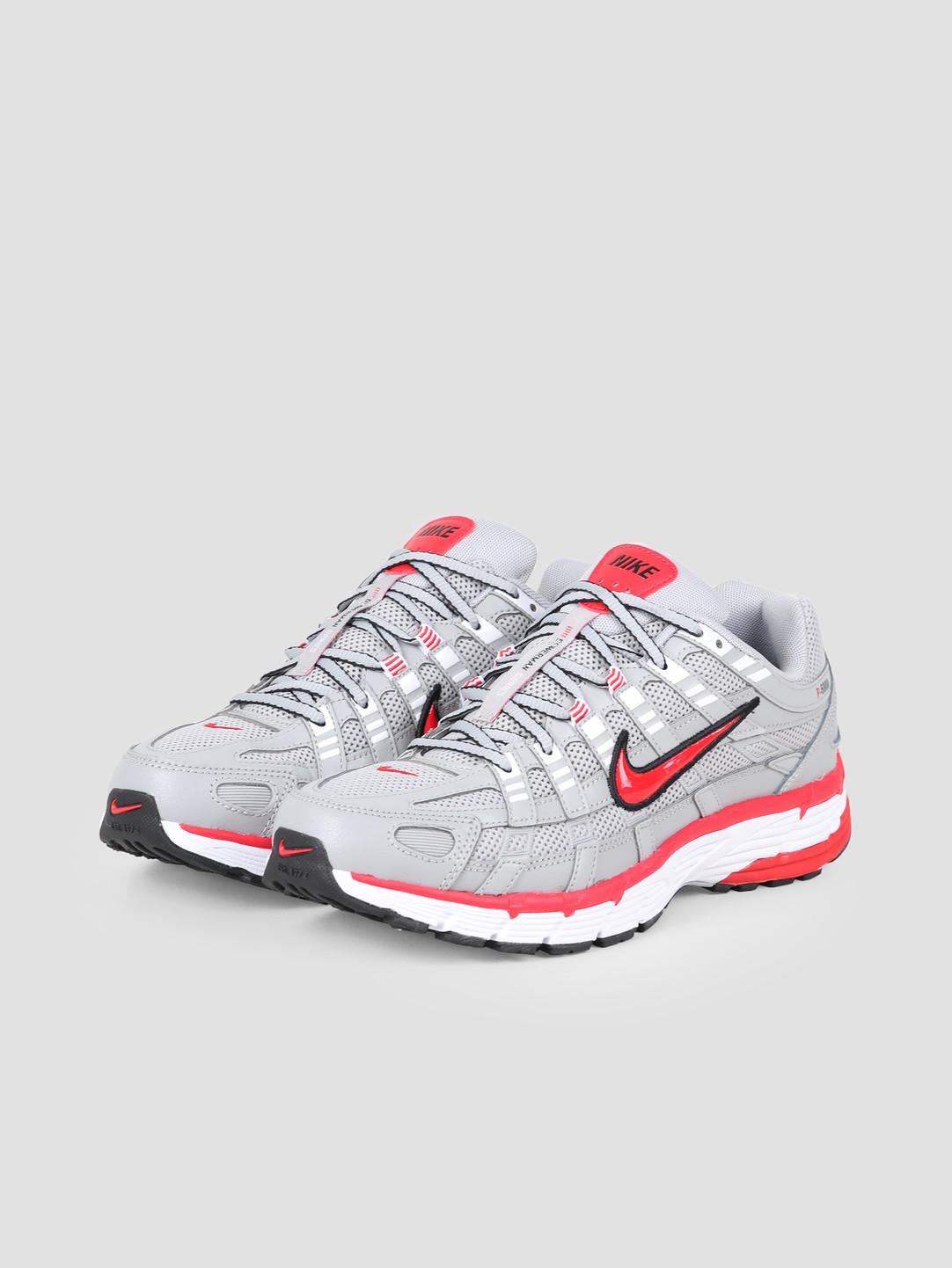 Nike Nike P 6000 Flt Silver Flt Silver University Red CD6404-001