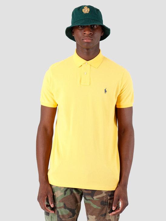 Ralph Lauren Basic Mesh Shortsleeve Yellow 710680784094