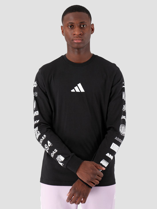 adidas TP Long Sleeve Black ED7254