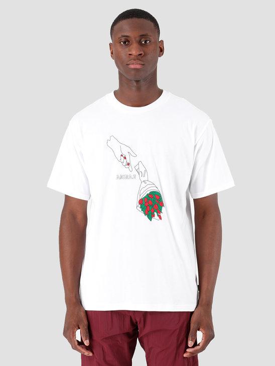 adidas Manolesaliast T-Shirt White Black Scarle EC7354
